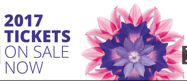 tickets on sale now 2017 rhs chelsea flower show may 23. Black Bedroom Furniture Sets. Home Design Ideas