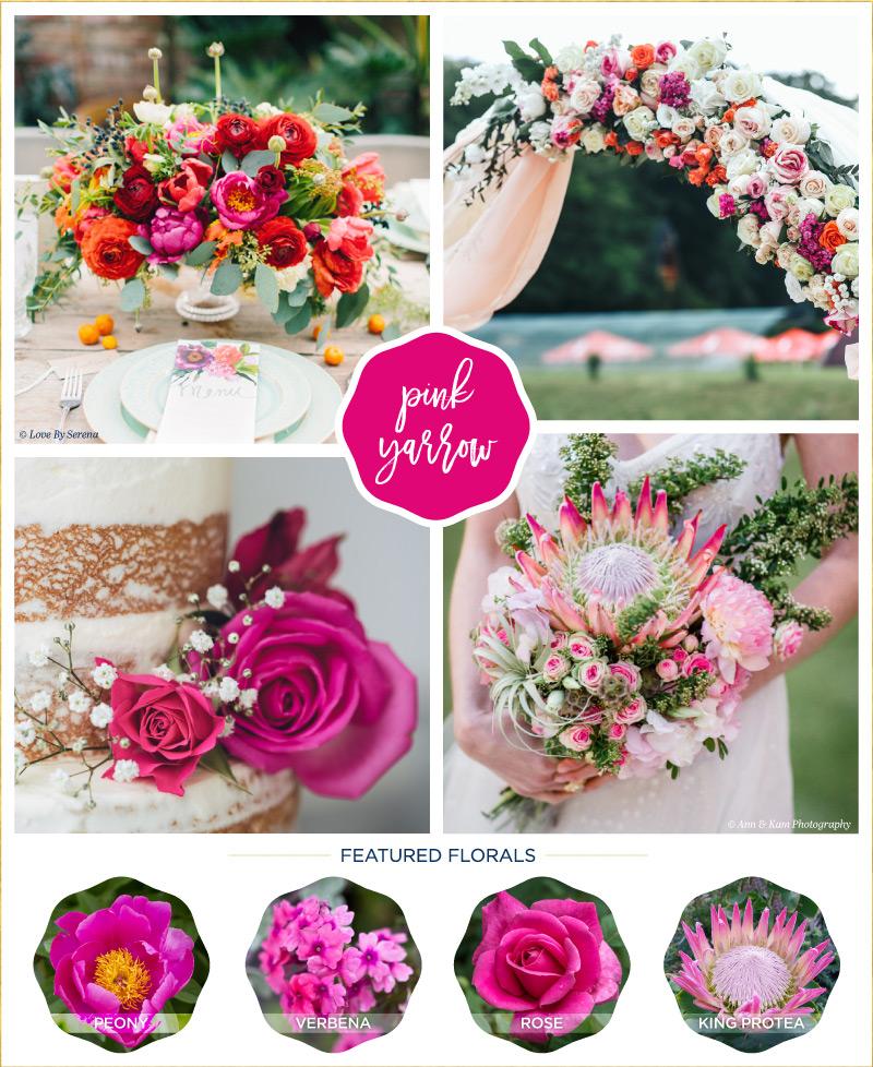 Wedding flower ideas inspired by the trendiest pantone colors of wedding flower ideas inspired by the trendiest pantone colors of 2017 junglespirit Choice Image