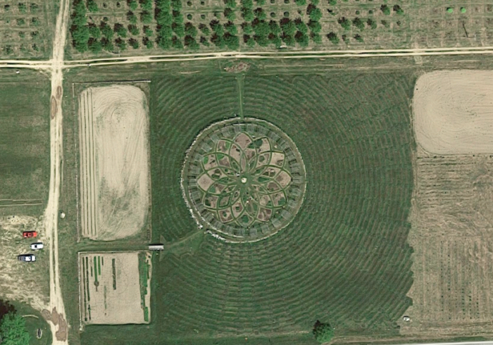 Shelby Michigan Lavender Labyrinth | Michigan S Lavender