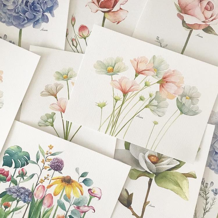 Artist Reveals How To Draw Perfect Flowers In 3 Simple